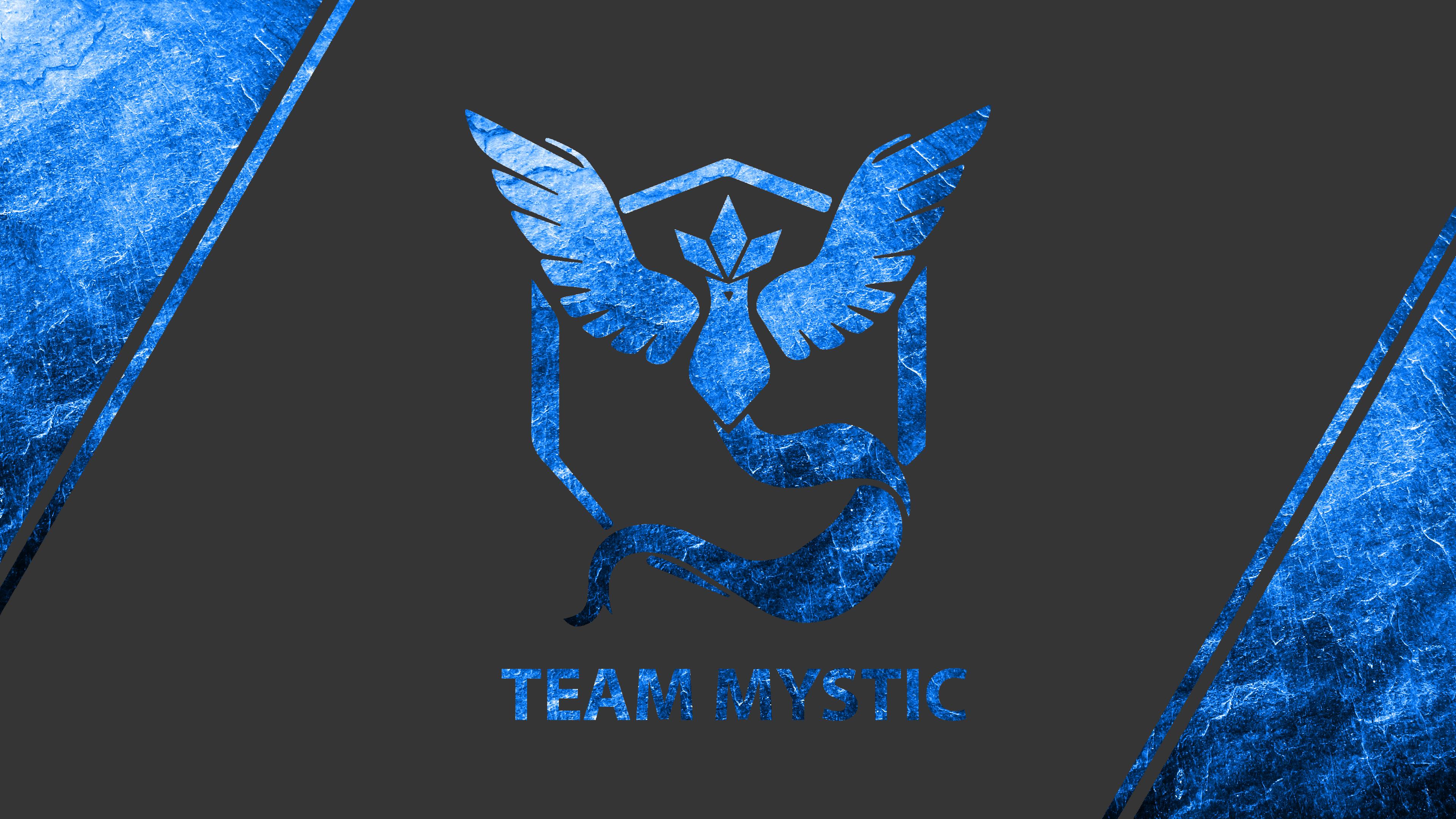 Team Mystic Ice Texture Wallpaper 4k Ultra HD Wallpaper ...
