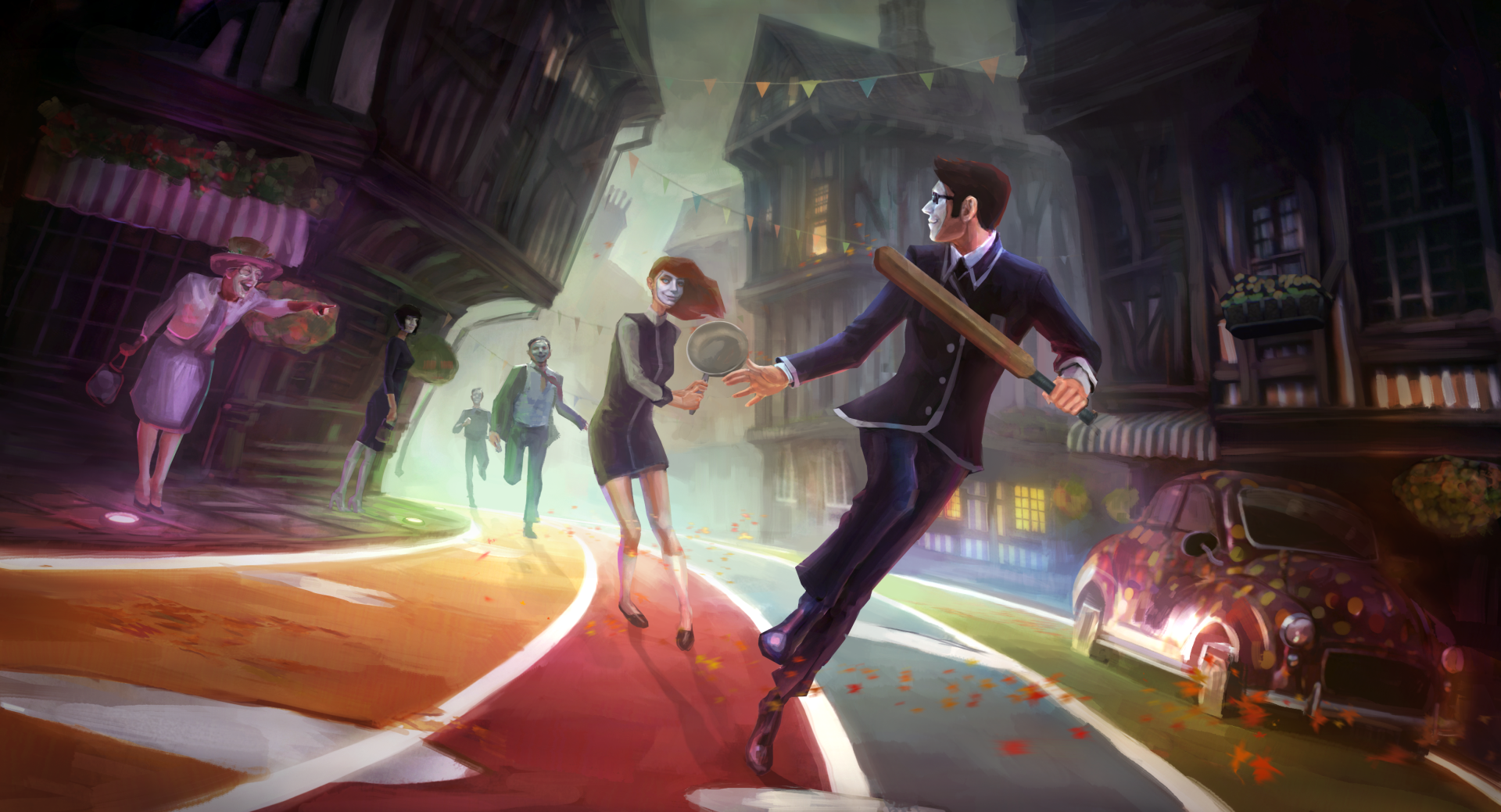Video Game - We Happy Few Wallpaper