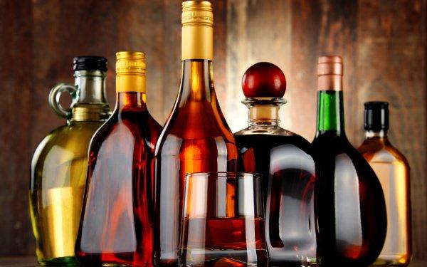 Food Alcohol Bottle Glass HD Wallpaper | Background Image
