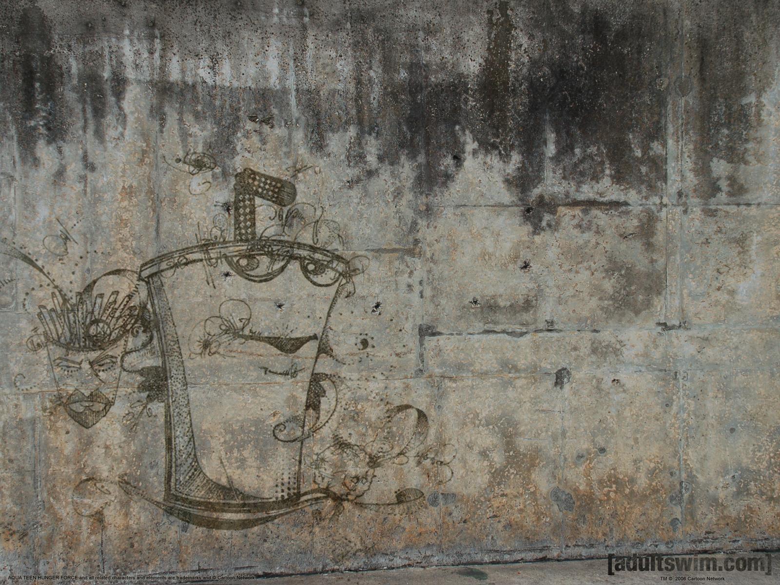 Cartoon - aqua teen hunger force Wallpaper