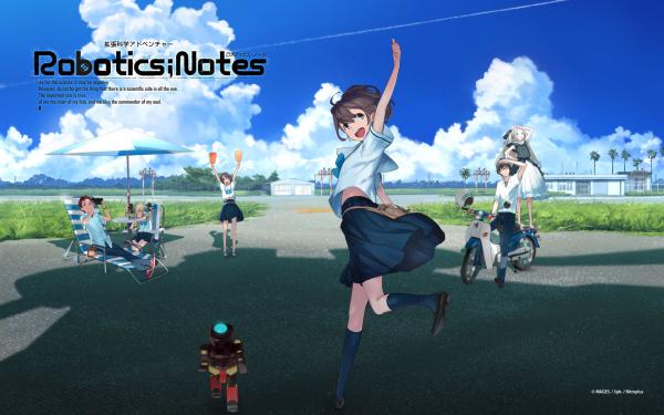 Anime Robotics;Notes HD Wallpaper | Background Image