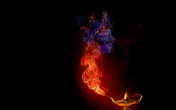 Artistic Other Genie Lamp HD Wallpaper | Background Image