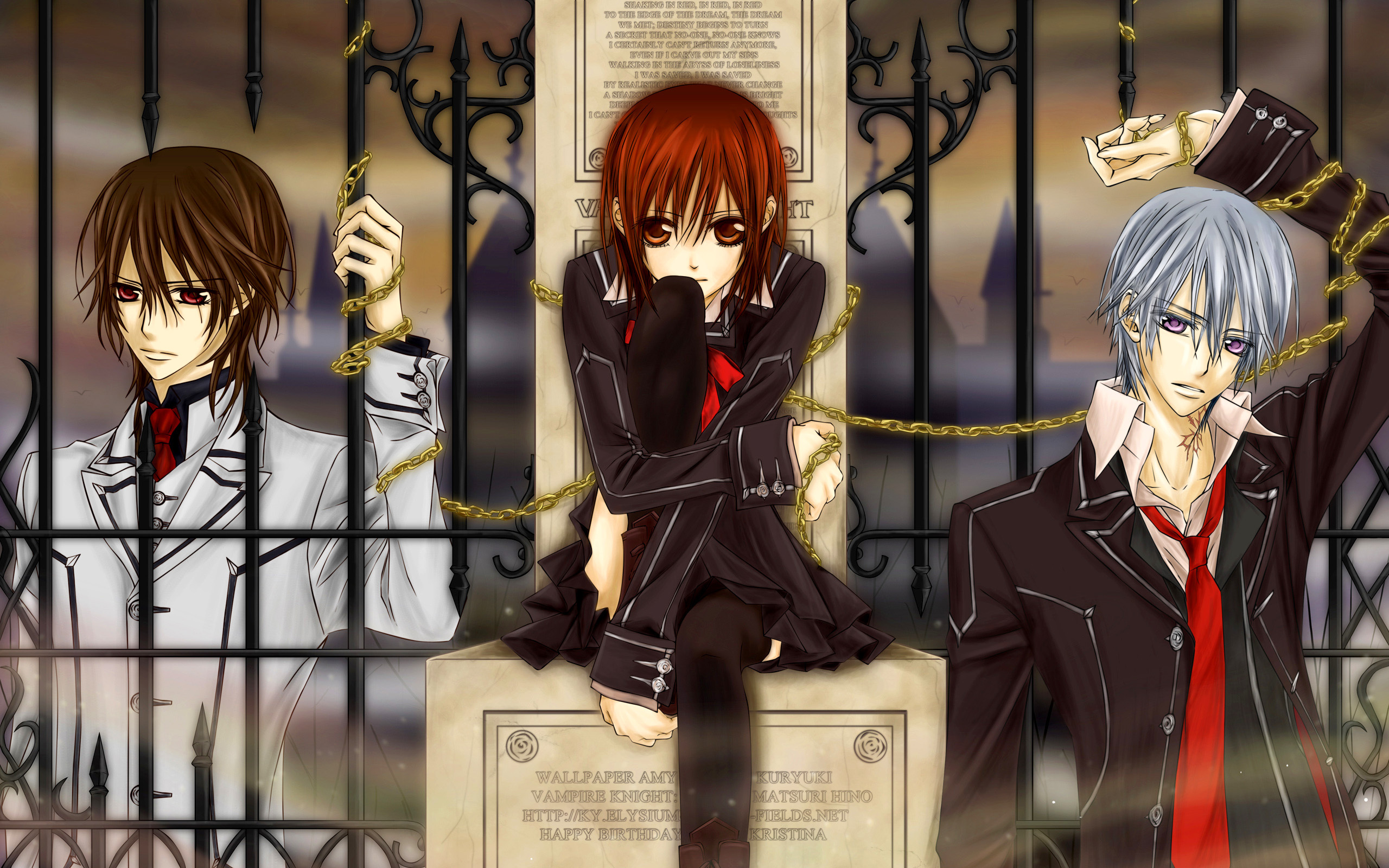 Vampire Knight HD Wallpaper | Background Image | 2560x1600 ...