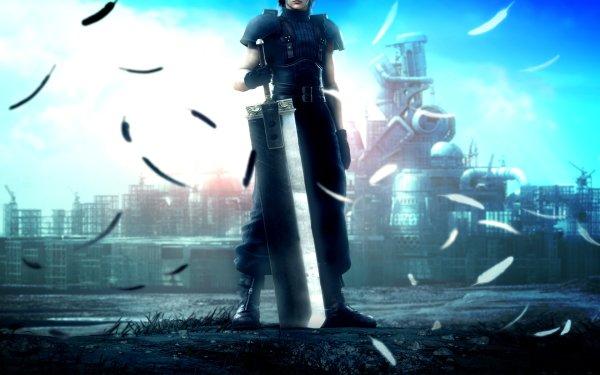 Video Game Crisis Core: Final Fantasy VII Final Fantasy Fantasy Anime Zack Fair HD Wallpaper | Background Image