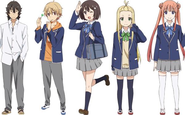 Anime This Art Club Has a Problem! Mizuki Usami Kono Bijutsubu ni wa Mondai ga Aru! Subaru Uchimaki Collette President Maria Imari HD Wallpaper | Background Image
