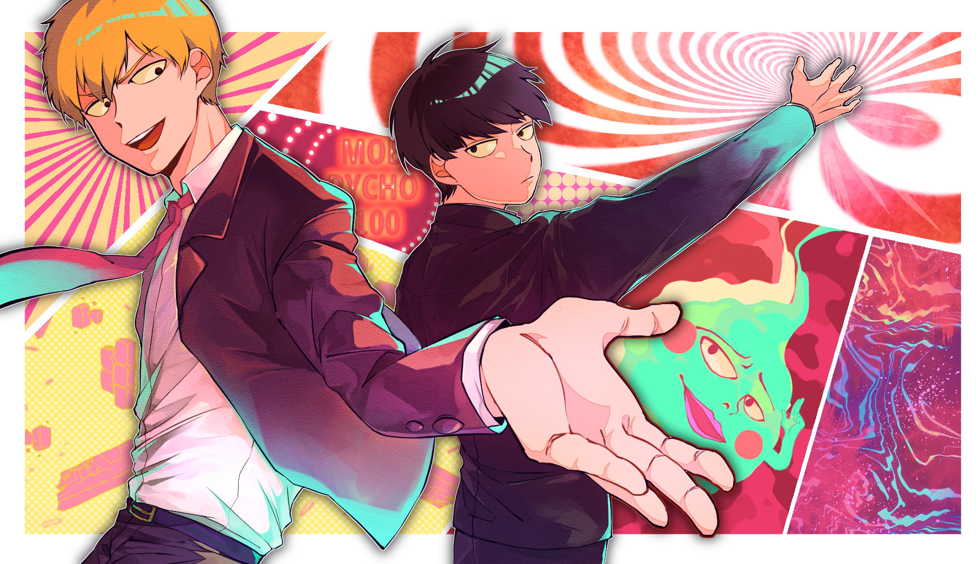 Mob Psycho 100 Wallpaper and Background Image   1919x1105 ...