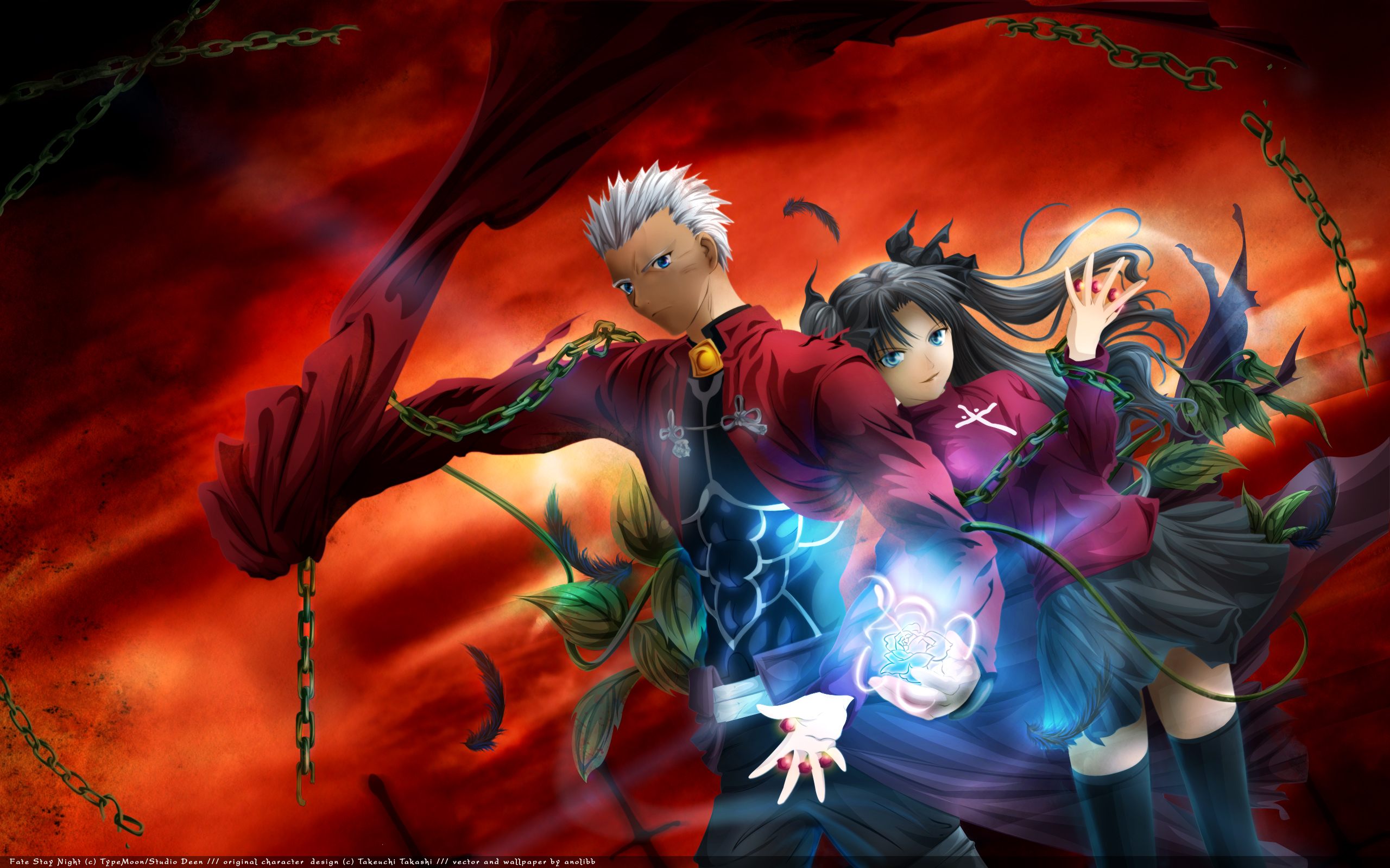 Fate stay night unlimited blade works hd wallpaper background image 2560x1600 id 72786 - Fate stay night wallpaper ...