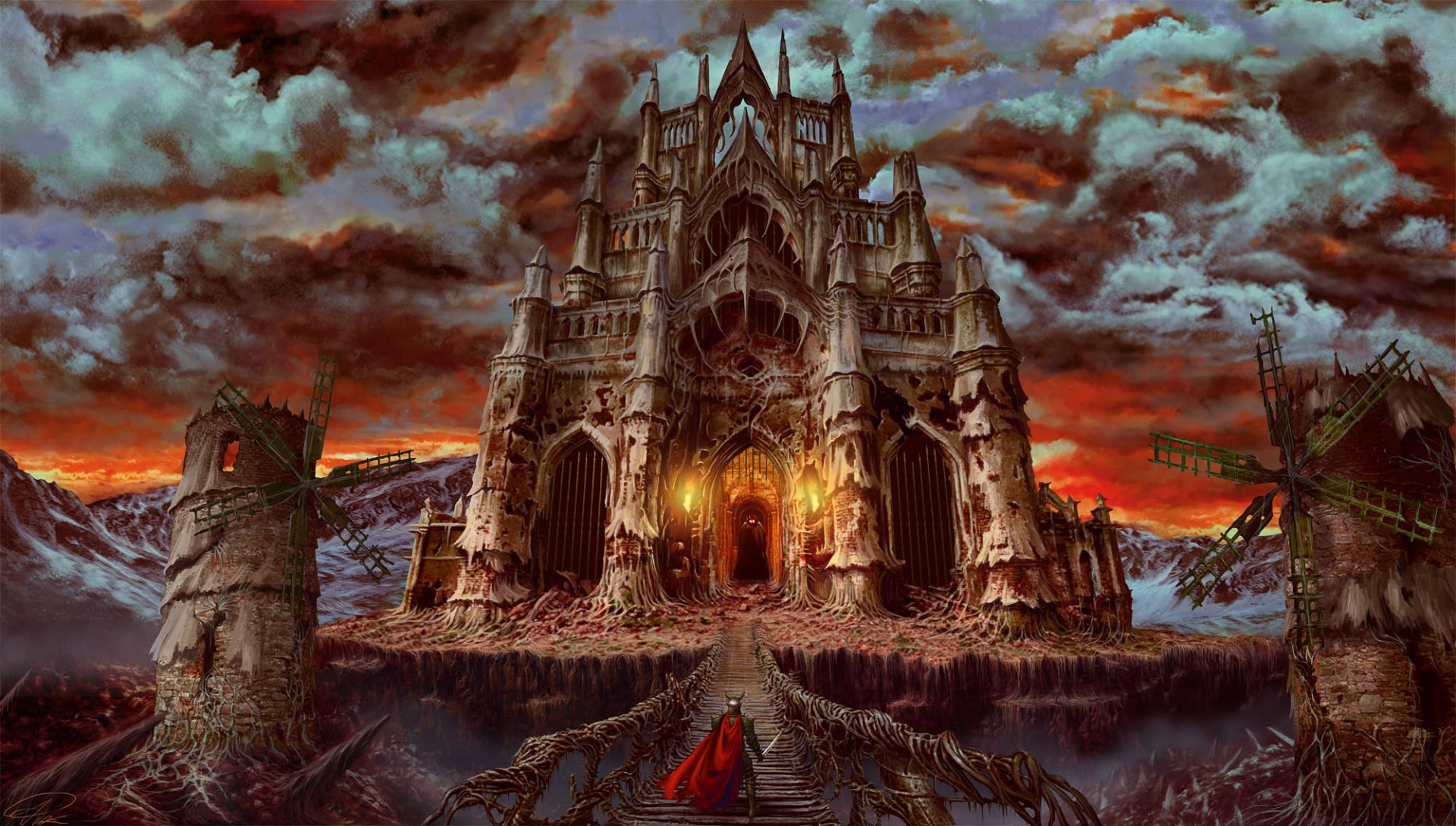 Gothic Castle HD Wallpaper | Background Image | 2000x1135 ...