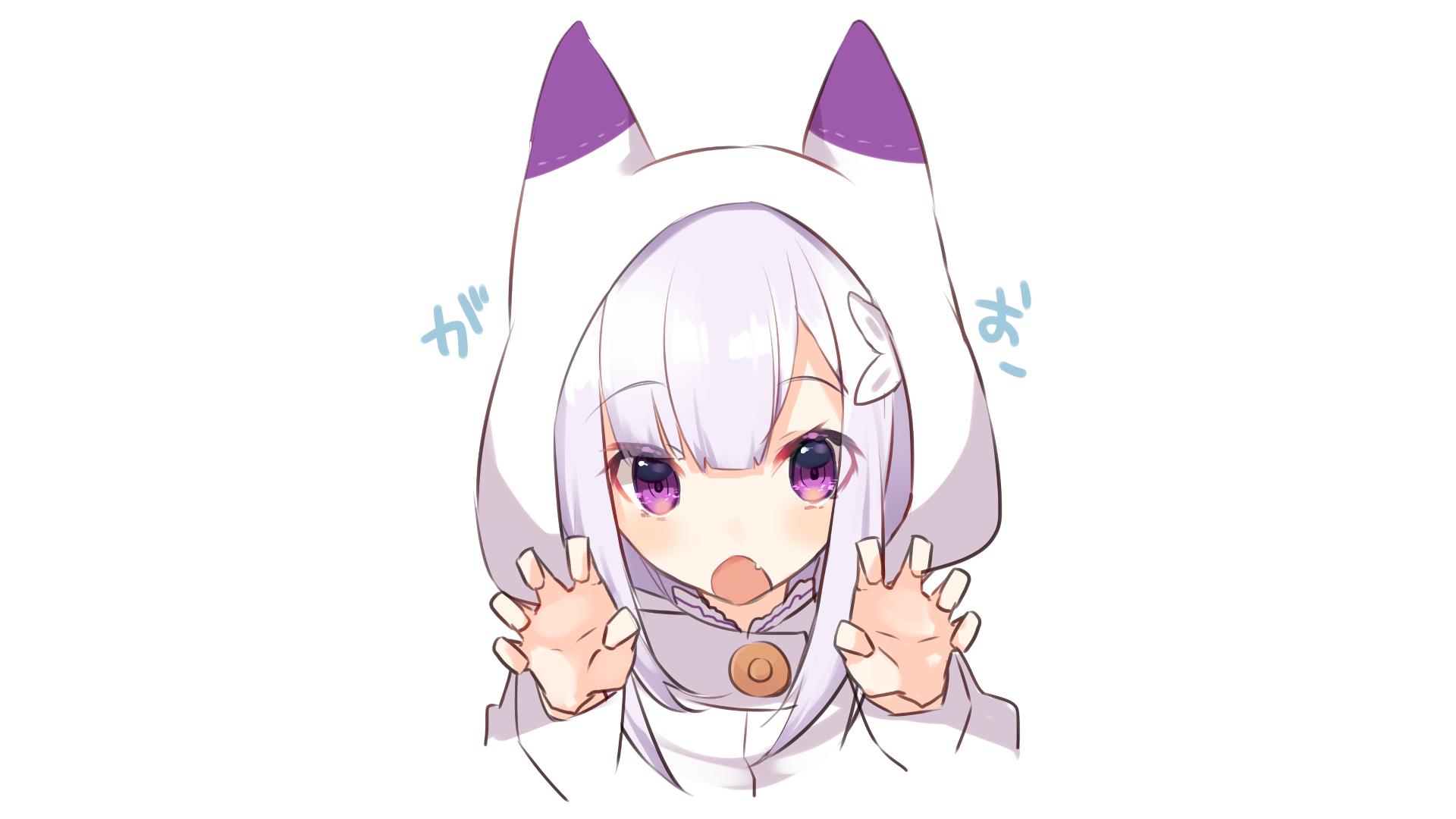 rezero starting life in another world hd wallpaper