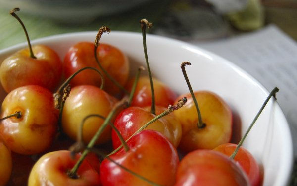 Food Cherry Fruits HD Wallpaper | Background Image