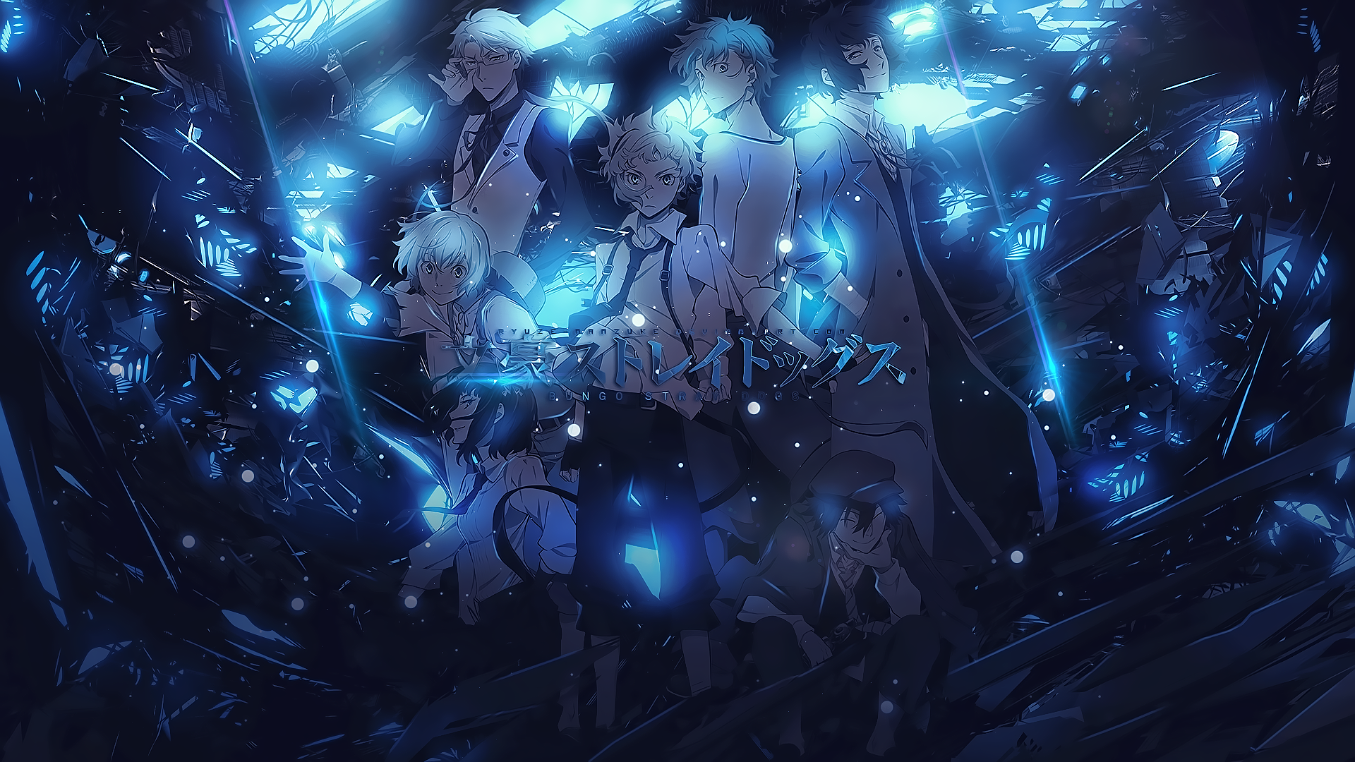 Bungou Stray Dogs Hd Wallpaper Background Image 1920x1080 Id