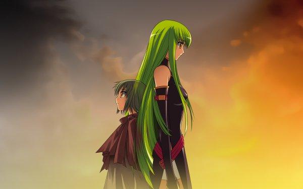 Anime Code Geass C.C. HD Wallpaper   Background Image