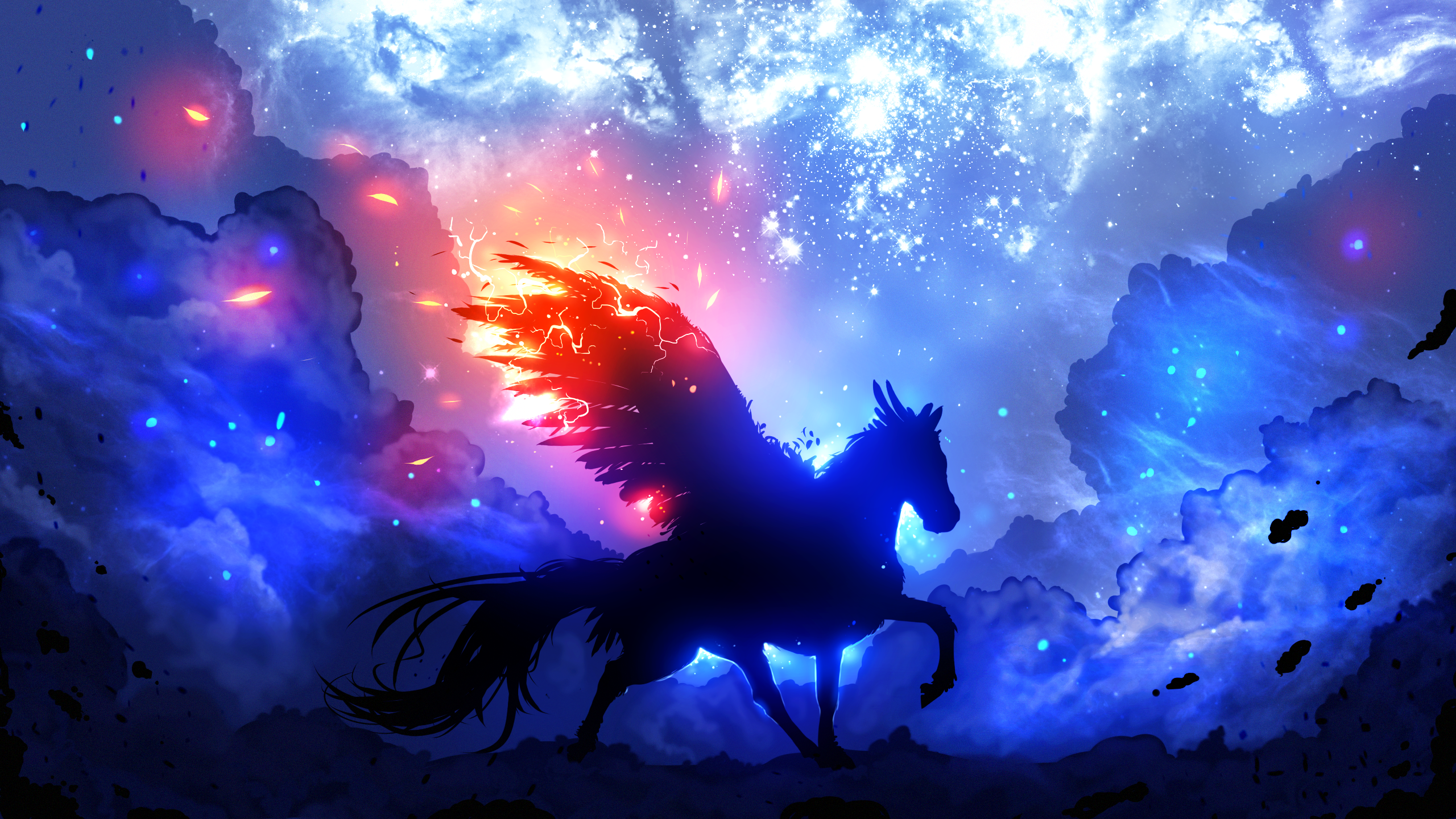 The Guardian Of The Stars Hd Wallpaper Background Image