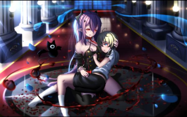 Anime Seraph of the End Krul Tepes Mikaela Hyakuya HD Wallpaper | Background Image
