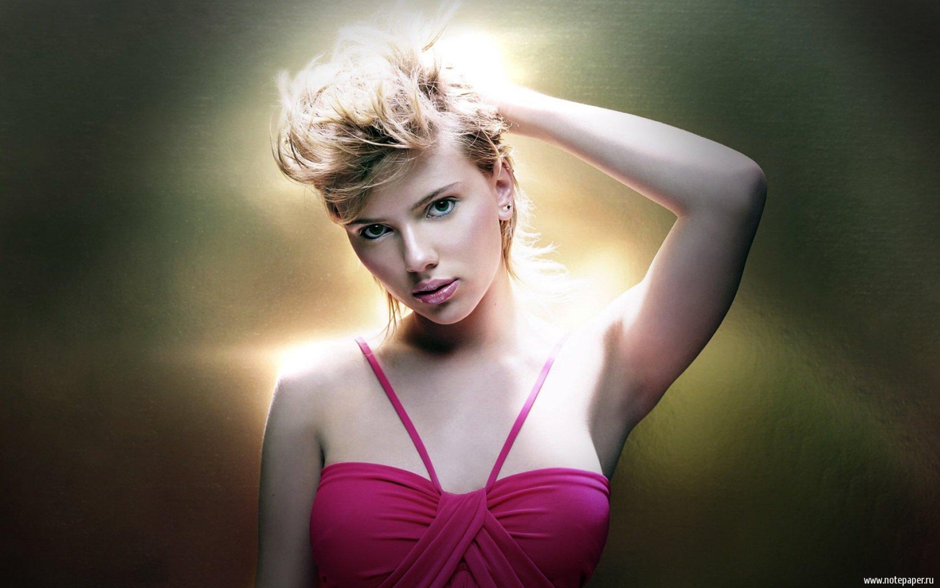 Celebrita' - Scarlett Johansson  Sfondo