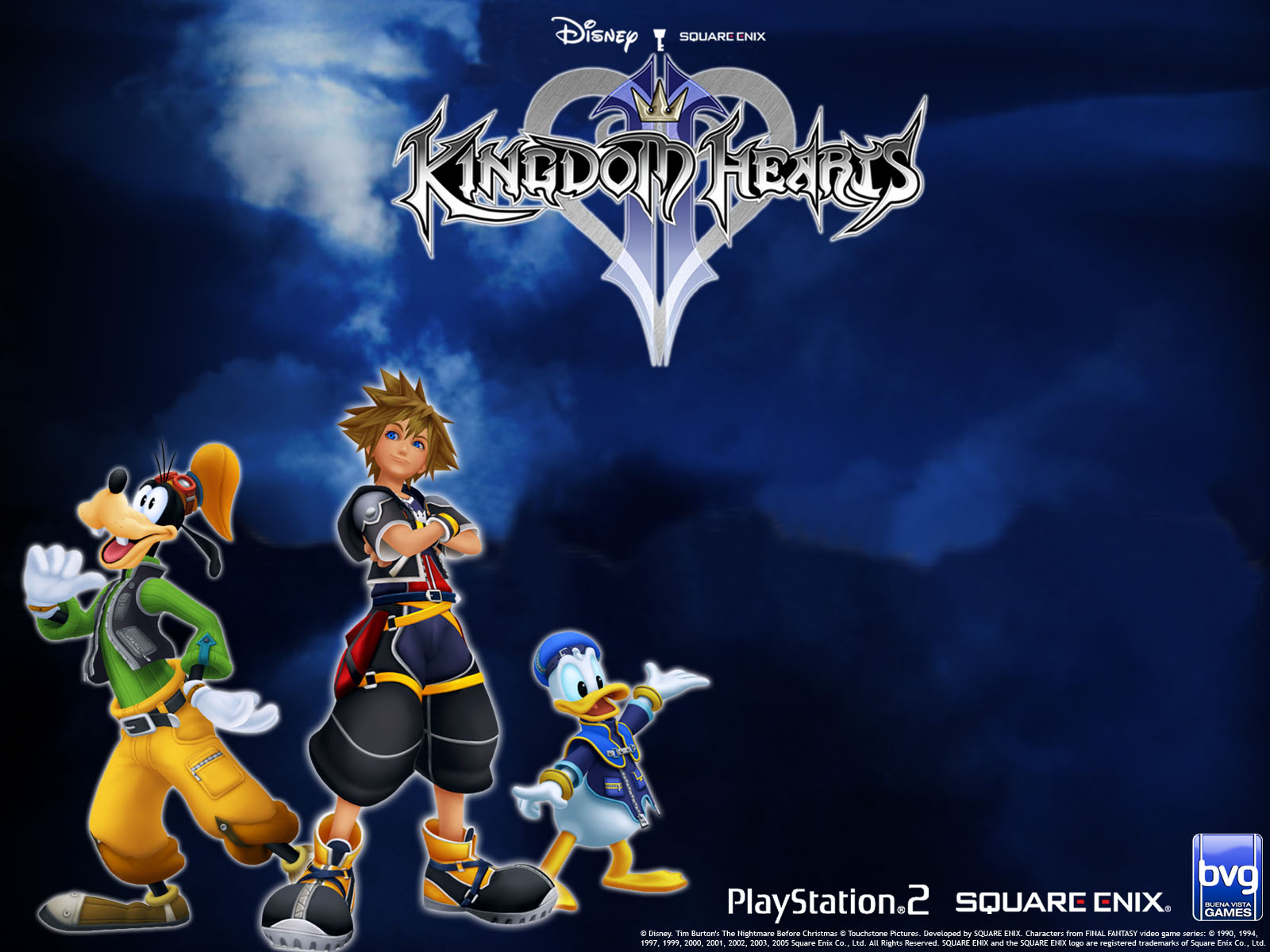 Kingdom Hearts Wallpaper and Background Image | 1600x1200 | ID:73596 ...