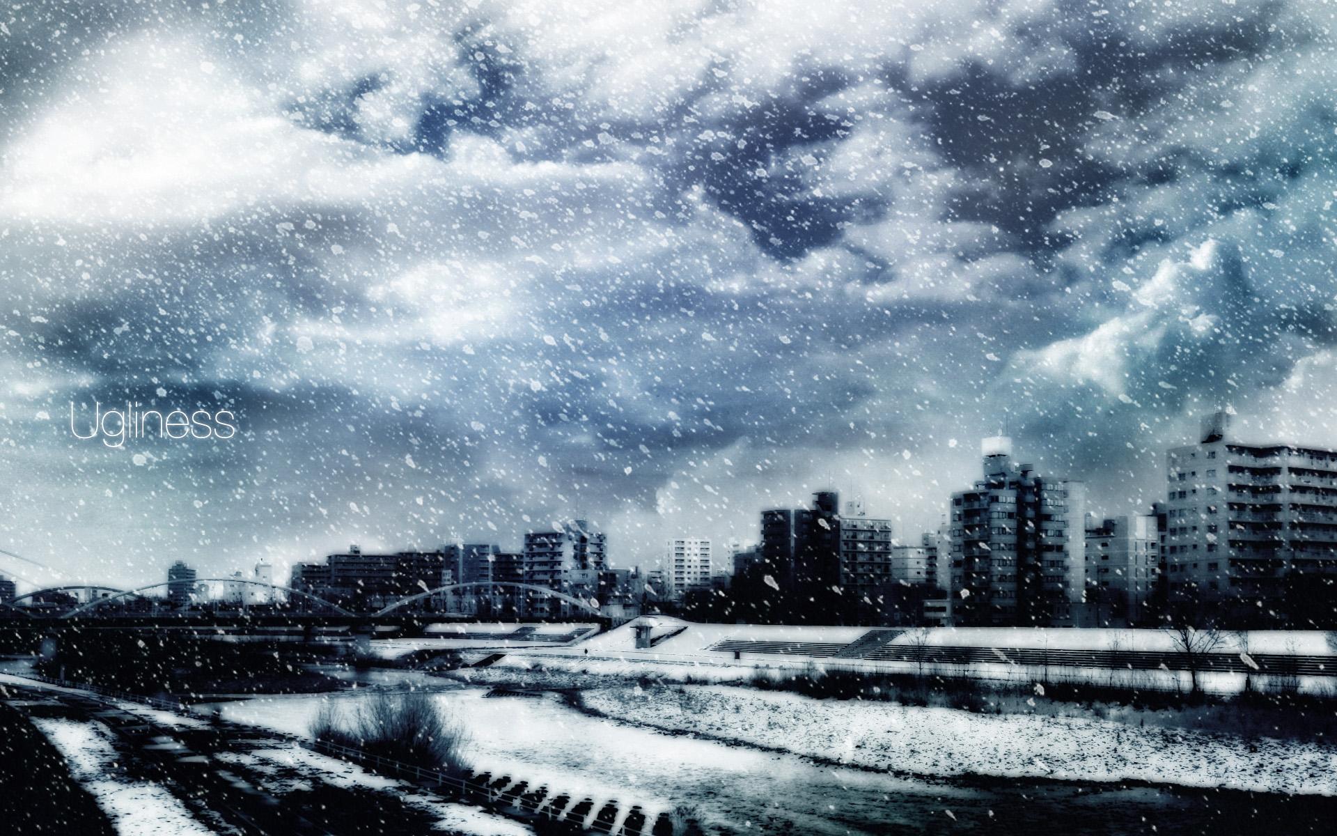 winter scenery iphone wallpaper