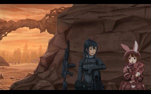Anime Sword Art Online Alternative: Gun Gale Online Sword Art Online LLENN Pitohui HD Wallpaper   Background Image
