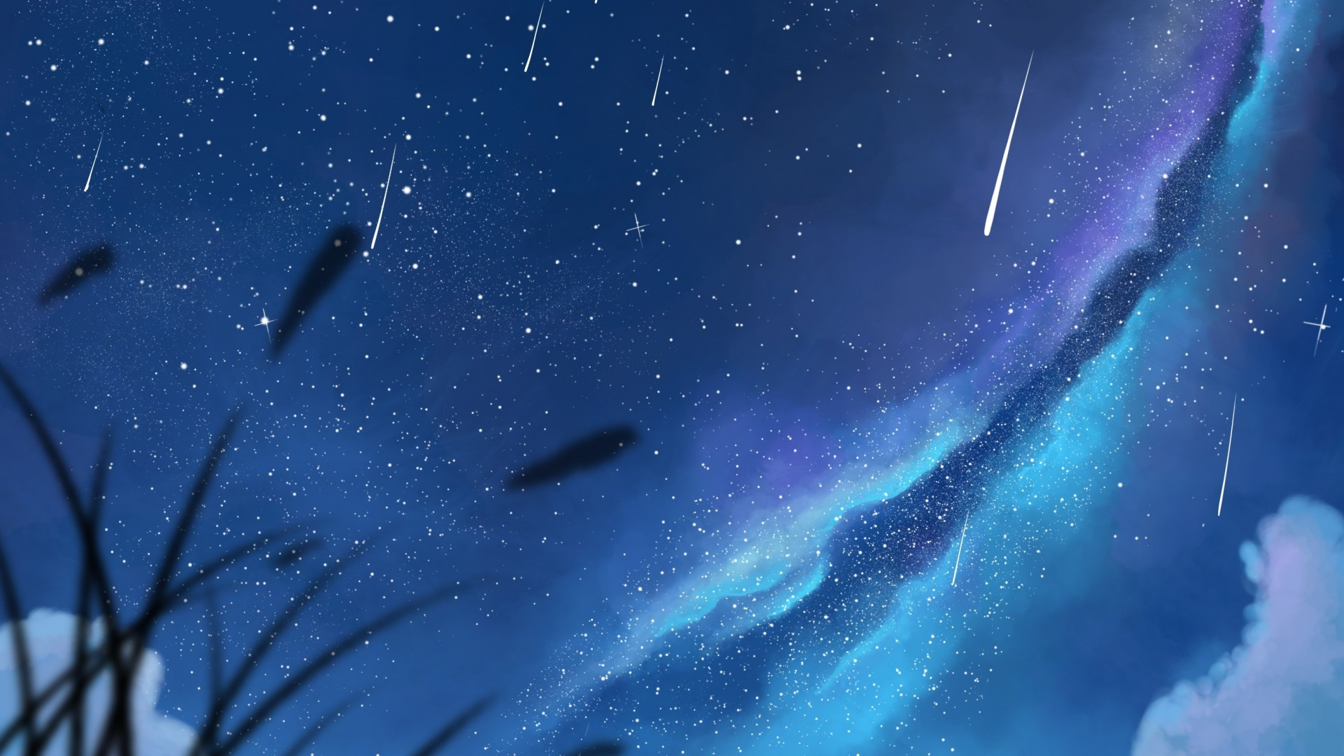 Sky hd wallpaper background image 1920x1080 id - Anime sky background ...