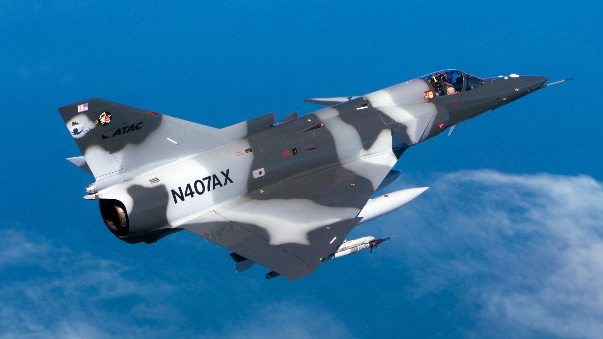 Military - Jet Fighter  IAI Kfir Aircraft Warplane Wallpaper
