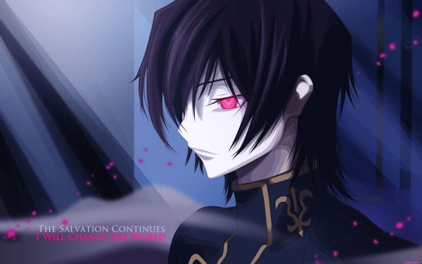 Anime Code Geass Lelouch Lamperouge HD Wallpaper | Background Image