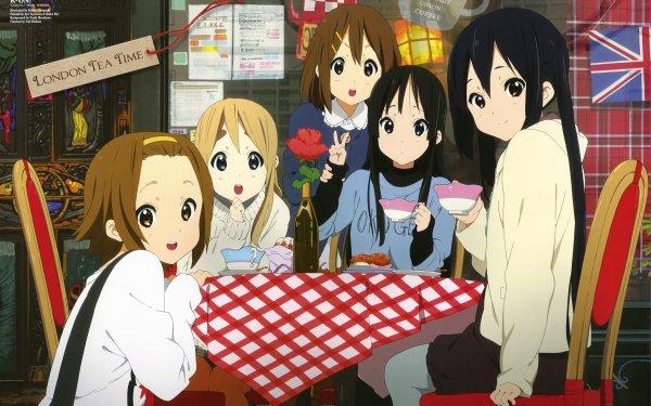 Anime K-ON! Tsumugi Kotobuki Mio Akiyama Yui Hirasawa Ritsu Tainaka Azusa Nakano HD Wallpaper   Background Image