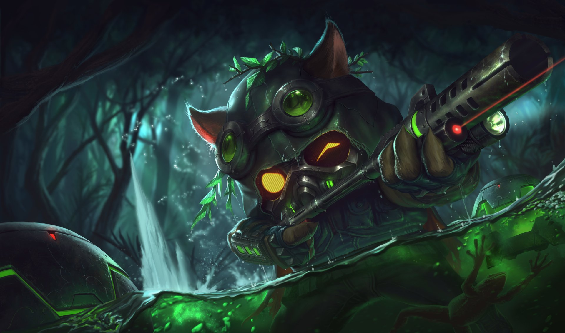 Video Game - League Of Legends  Teemo (League Of Legends) Video Game Wallpaper