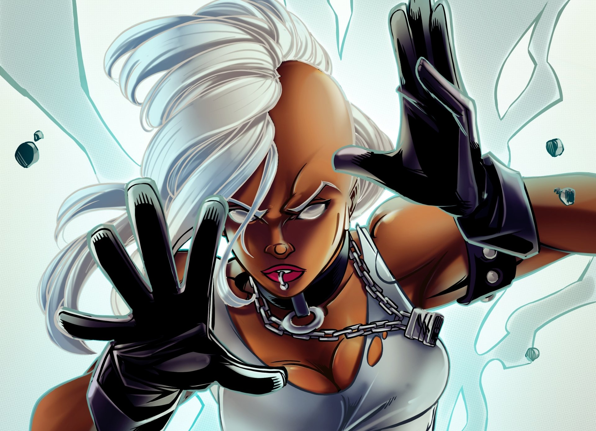 Comics - Storm  X-Men White Hair Storm (Marvel Comics) Wallpaper