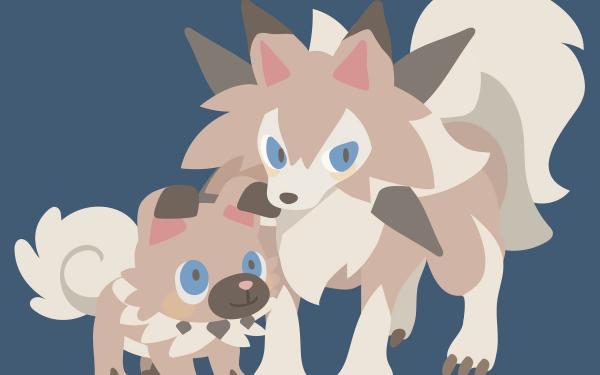 Videojuego Pokémon: Sol y Luna Pokémon Rockruff Lycanroc Pokémon Sun And Moon Fondo de pantalla HD   Fondo de Escritorio