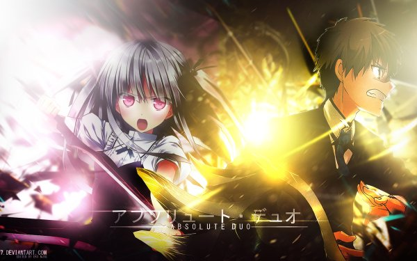Anime Absolute Duo HD Wallpaper | Background Image