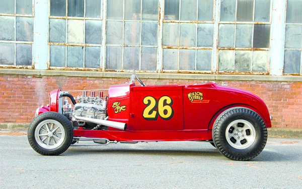 Vehicles Ford Roadster Ford 1929 Ford Roadster Hot Rod Race Car Drag Racing HD Wallpaper | Background Image