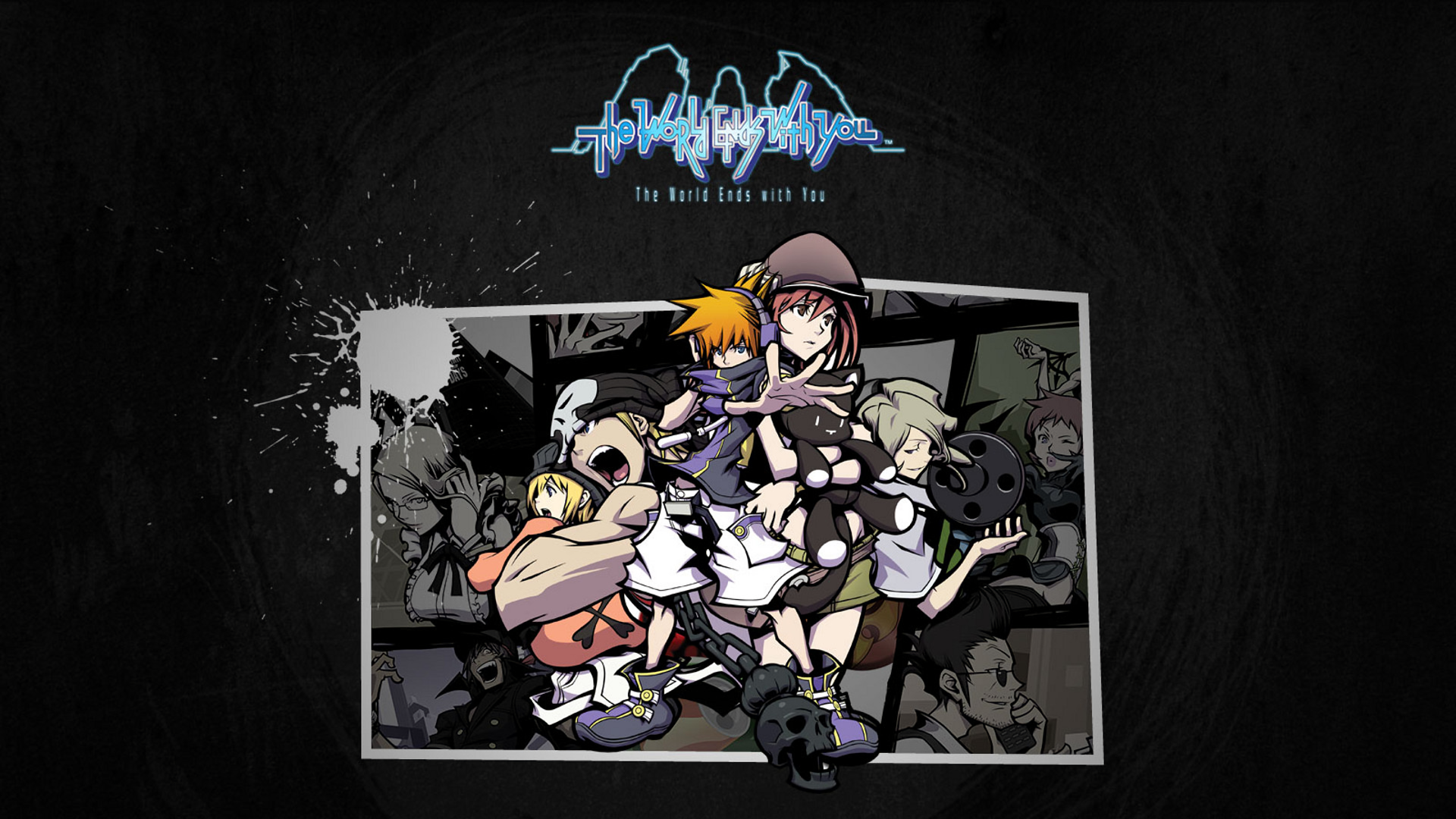 The World Ends With You Hd Wallpaper Background Image
