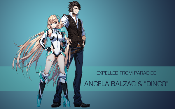 Anime Expelled From Paradise HD Wallpaper   Background Image