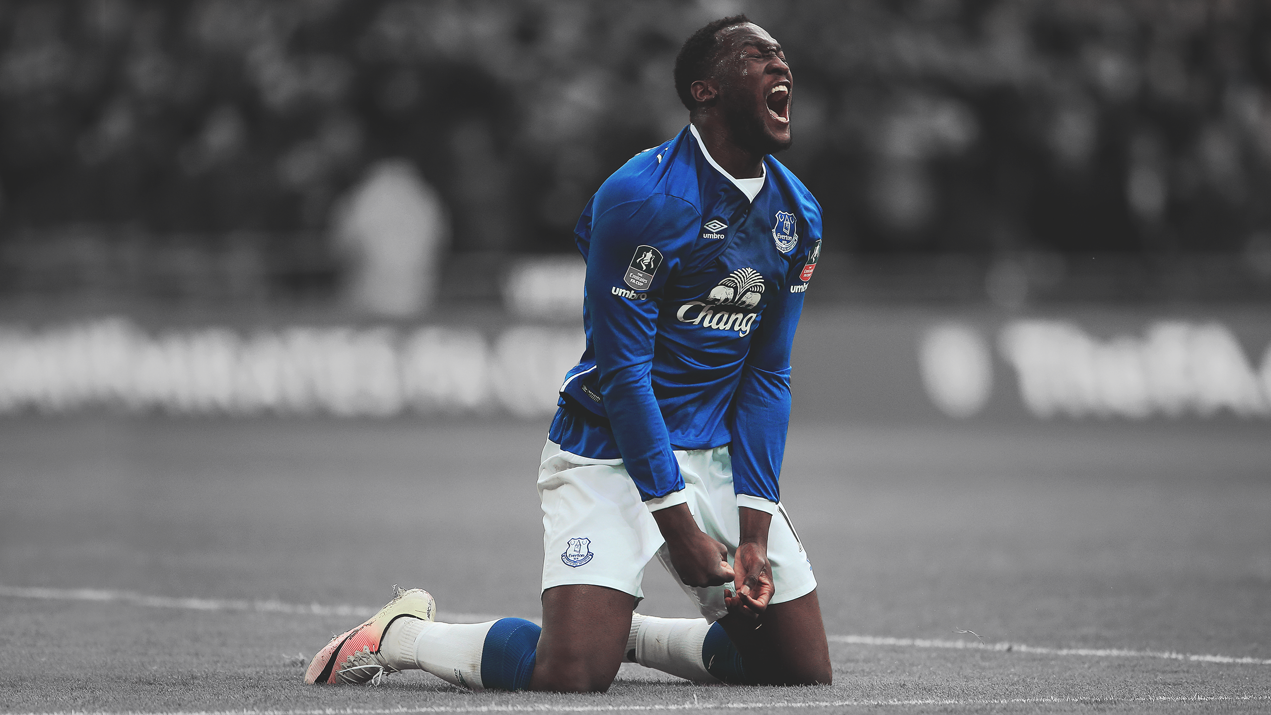 Romelu Lukaku HD Wallpaper