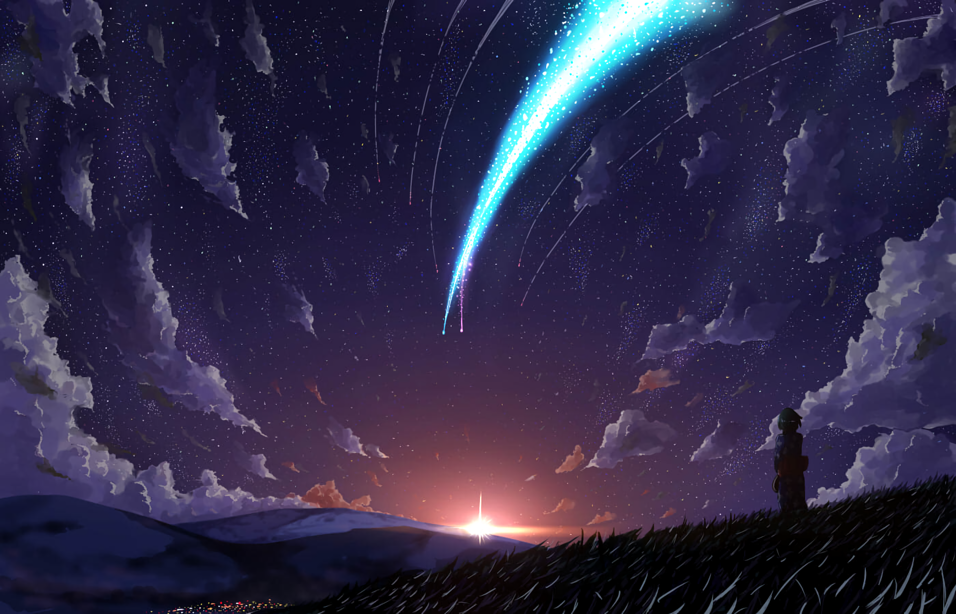 Your Name Wallpaper - Your Name wallpapers 1680x1050 ...