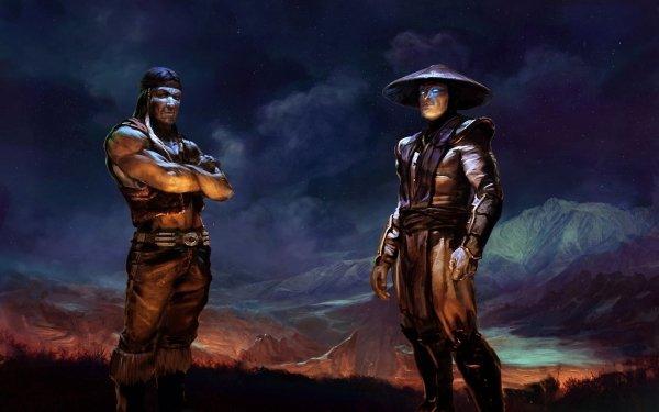 Video Game Mortal Kombat Nightwolf Raiden HD Wallpaper | Background Image