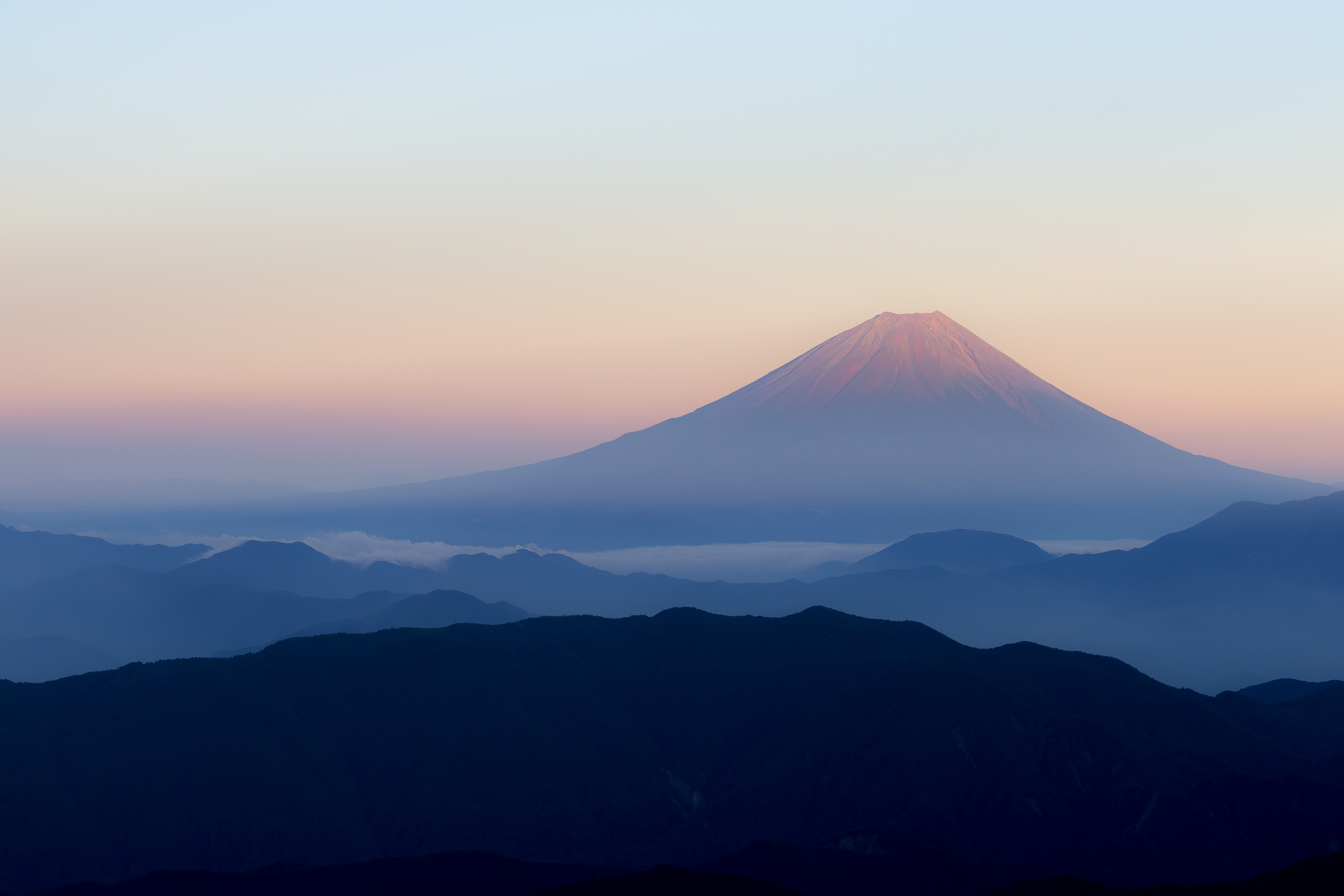 Mount Fuji 4k Ultra Hd Wallpaper Background Image