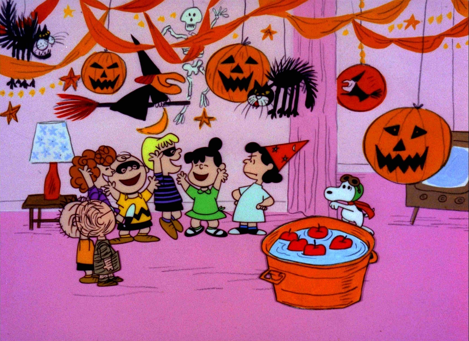 Peanuts Halloween Hd Wallpaper Background Image 1920x1396