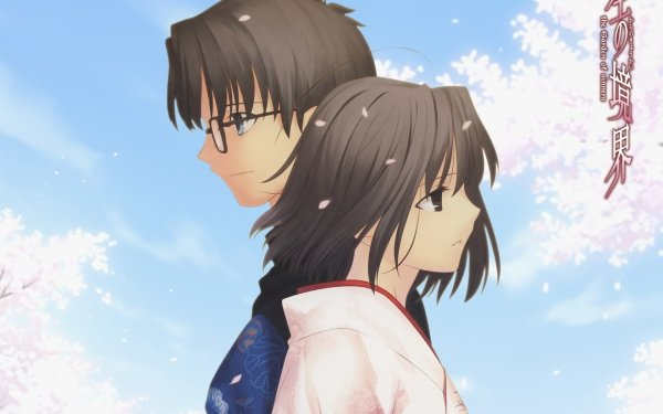 Anime Kara no Kyōkai Mikiya Kokutou Shiki Ryougi HD Wallpaper | Background Image