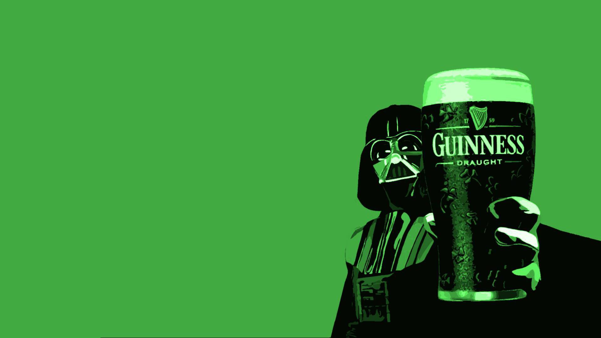 Humor - Star Wars  Beer Darth Vader Wallpaper