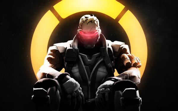 Video Game Overwatch Soldier: 76 HD Wallpaper   Background Image