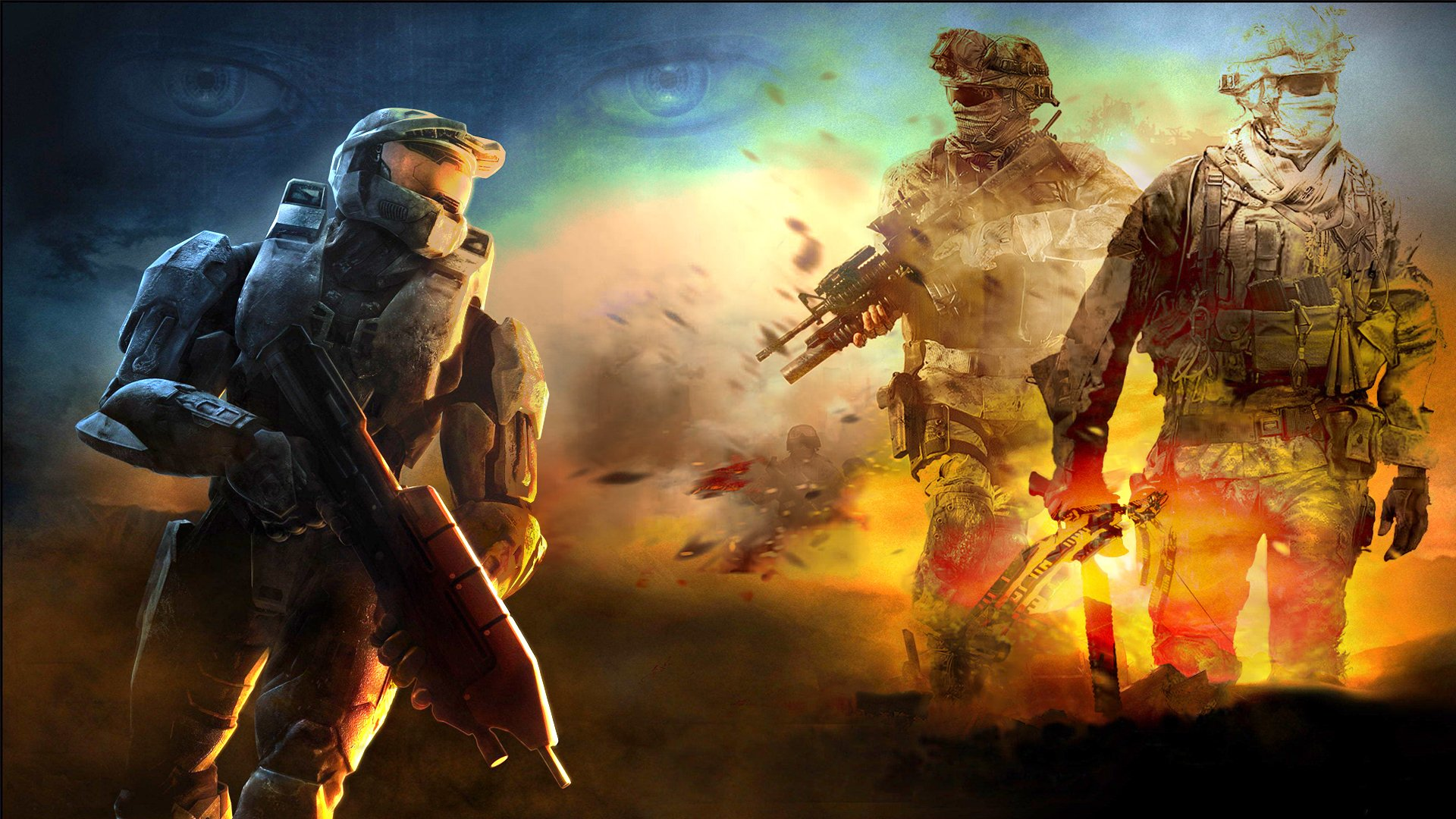 Video Game - Halo  Soldier Wallpaper