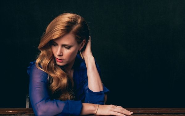 Celebrity Amy Adams Actresses United States Actress American Redhead Lipstick HD Wallpaper   Background Image