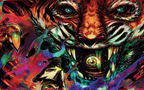 Video Game Hotline Miami 2: Wrong Number Hotline Miami The Son Psychedelic HD Wallpaper | Background Image