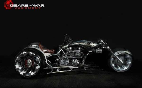 Video Game Gears Of War: Judgment Gears of War Tony Tony Chopper Motorcycle HD Wallpaper | Background Image