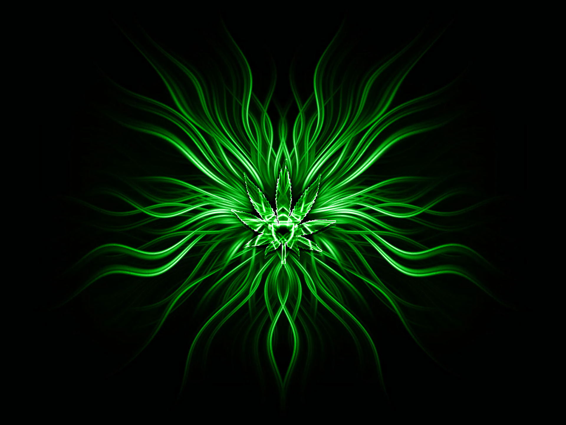 Abstract - Green  Abstract Wallpaper