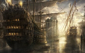 Fantasy - Ship Wallpapers and Backgrounds ID : 75698
