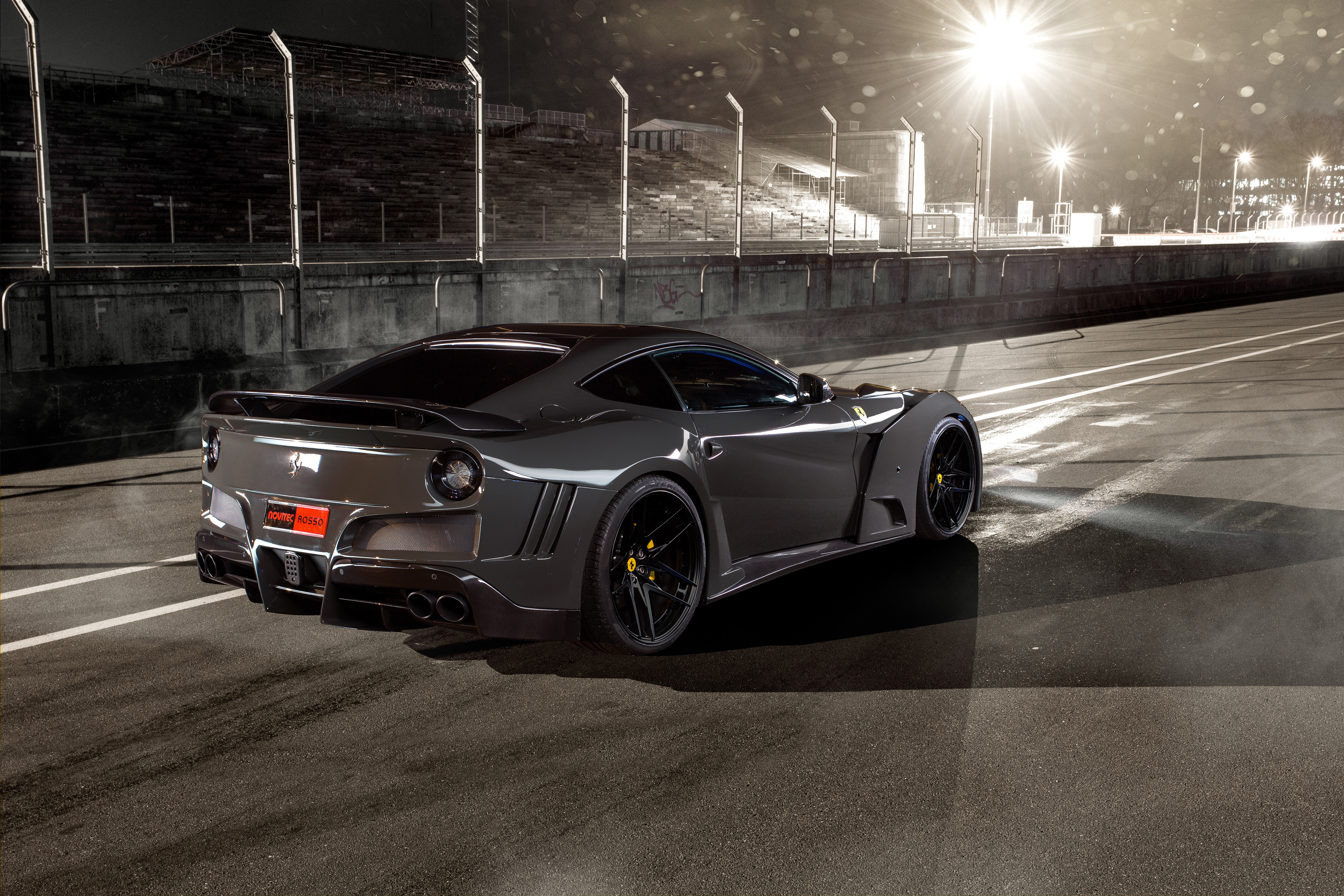 2016 Novitec Rosso Ferrari F12 Berlinetta 4k Ultra HD ...