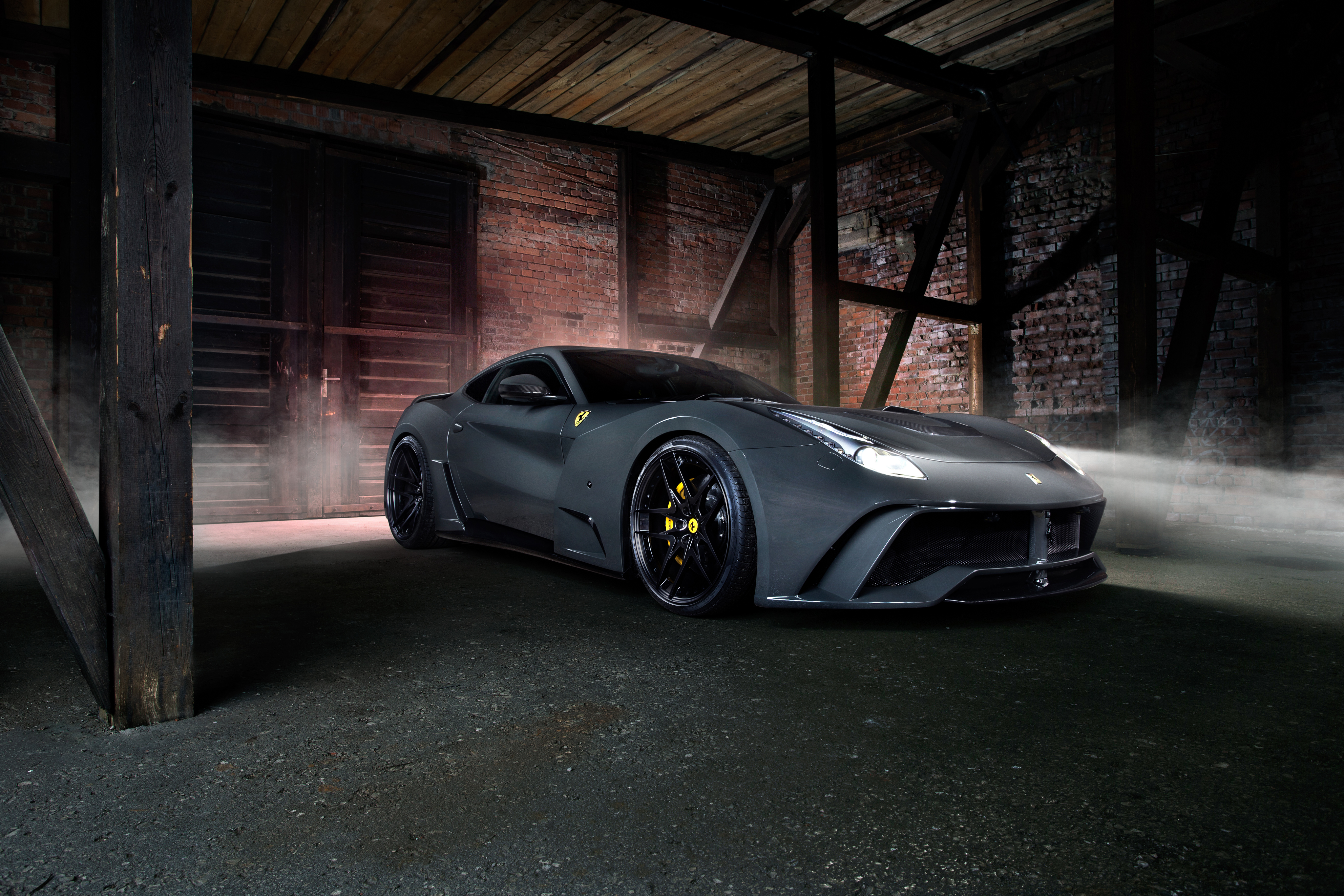 Black Car Novitec Rosso Ferrari F12 Berlinetta Wallpapers ID757610