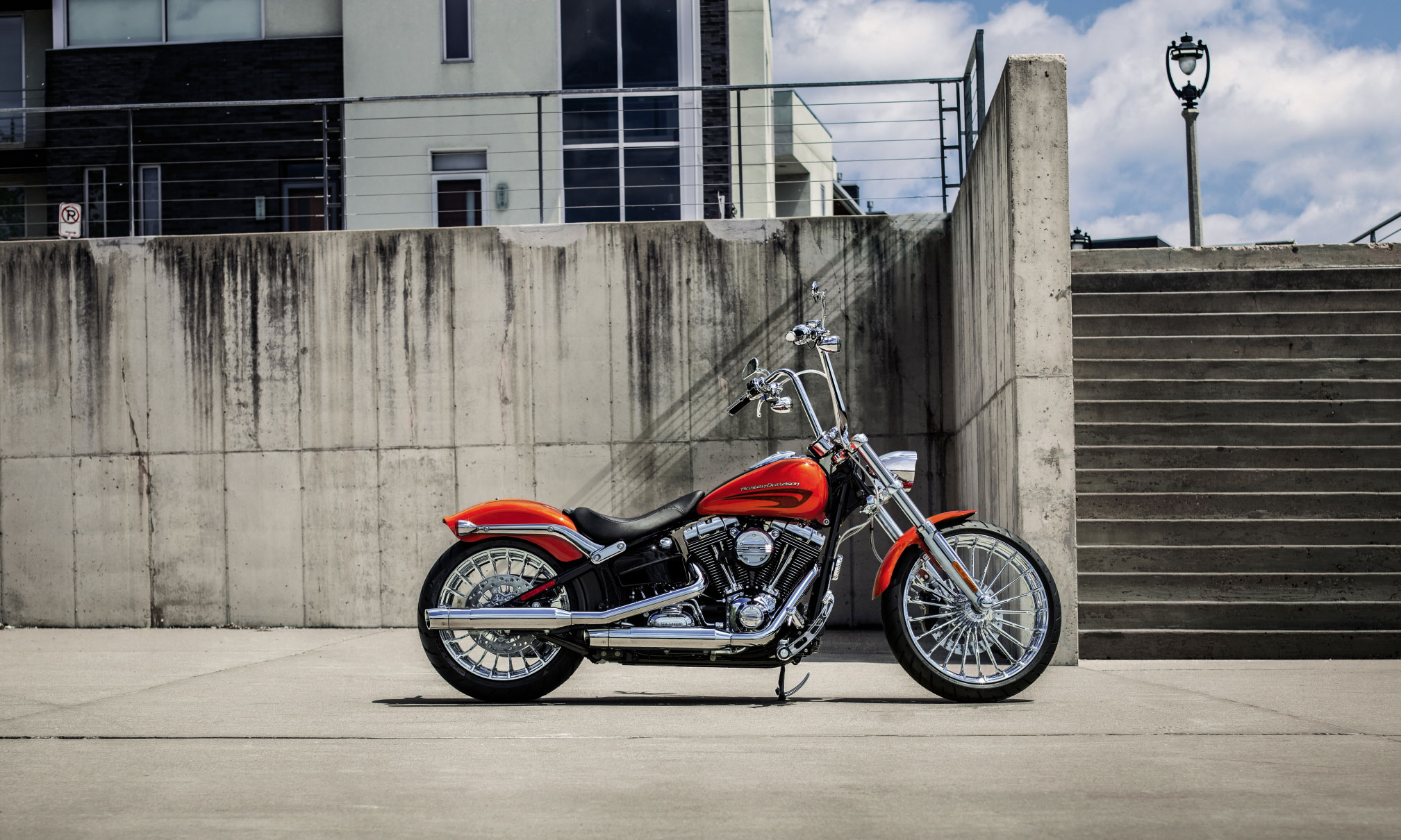 2017 Harley Davidson Breakout Full HD Wallpaper And Background Image